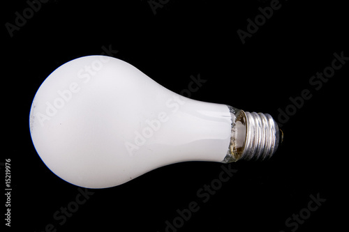 Fototapety, obrazy: Light Bulb on Black
