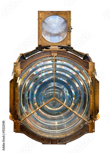 Fototapeta  house fresnel lens isolated