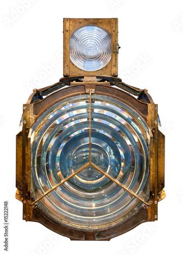 Valokuvatapetti house fresnel lens isolated