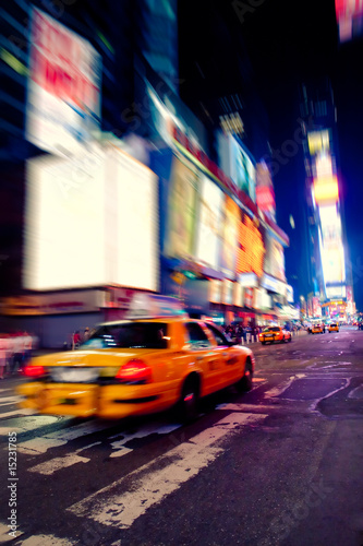 Photo  Taxi in Times Square