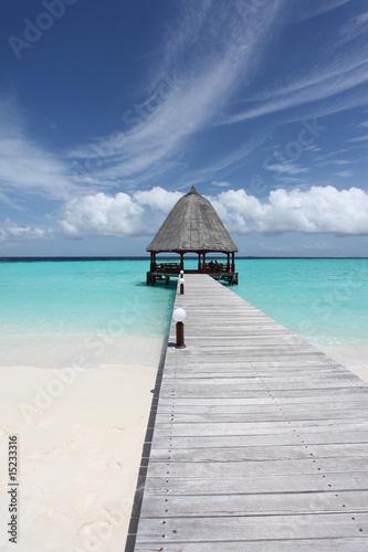 Foto-Kissen - Malediven - Angaga - Maldives (von tagstiles.com)