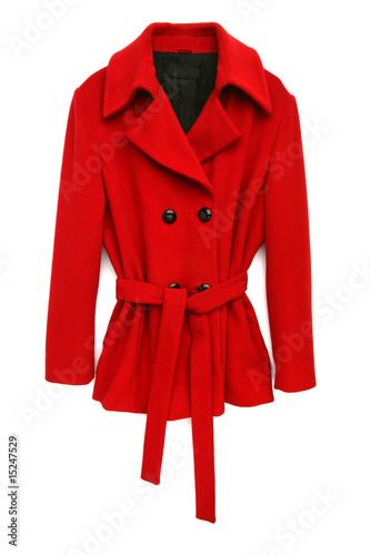 Fotografie, Tablou  red coat