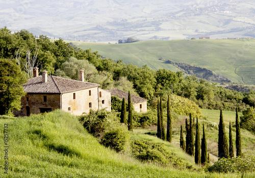 Deurstickers Toscane In der Toskana
