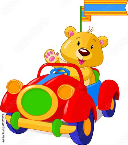 niedzwiedz-w-samochodziku