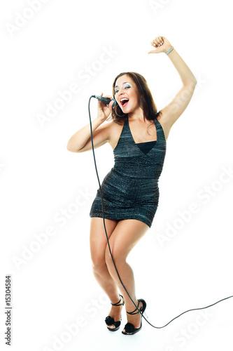 Fotografering  sexy singer