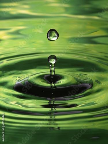 krople-wody-kropla-wzor-zielone-krople-muliti