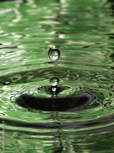 water-droplet-ripple-pattern-pionowo-ciemnozielony