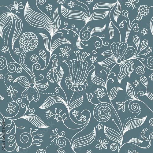 Tapety Art Deco  bezszwowe-kwiatowy-wzor