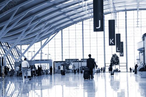 Staande foto Luchthaven passenger