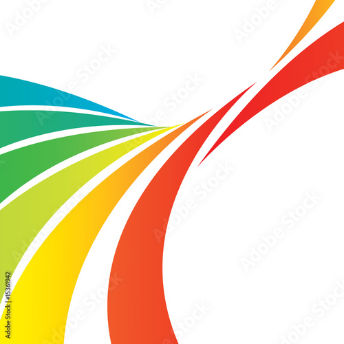 Photo  A colorful abstract vector layout with plenty of copyspace.