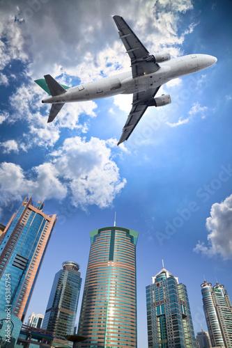 Plakaty samoloty   samolot-i-chmura