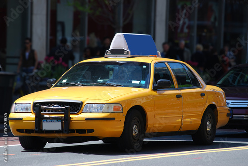 Fotomural taxi