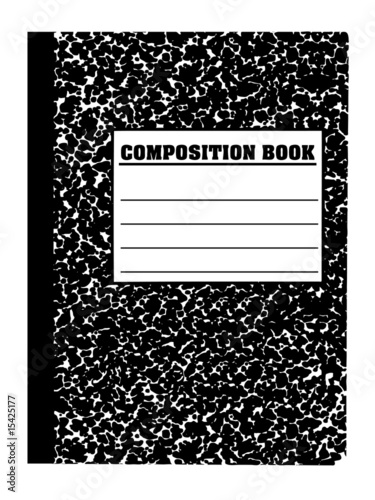 Fotografie, Obraz  School note/composition book