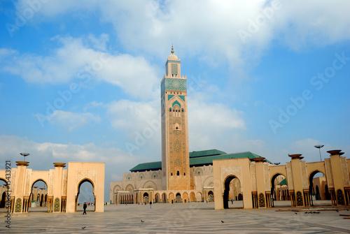 Foto  II. Hassan Mosque, Casablanca, Morocco