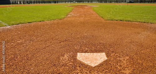 Photo  View From Home Plate