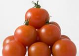 Fototapeta Fototapety do kuchni - piramida świeżych pomidorów