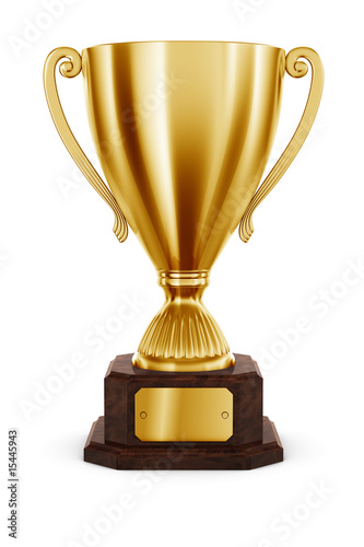 Photo  Gold Trophy