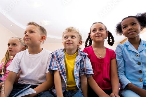 Fotografia  Attentive pupils