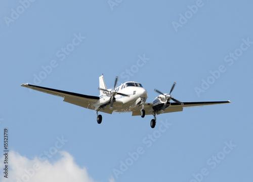 Fotografie, Tablou Turboprop airplane