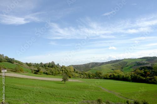 Foto auf Gartenposter Hugel colline parmensi