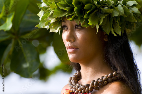 Hawajska dziewczyna