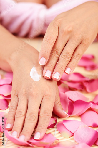 Poster Pedicure hands care