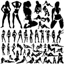 Collection Of Women In Bikini ...