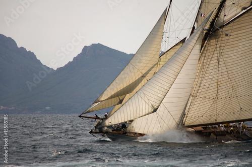 Staande foto Zeilen Old sailing boat