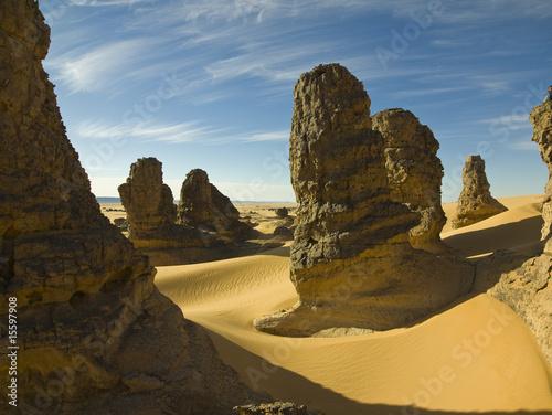 Poster Algérie Sahara