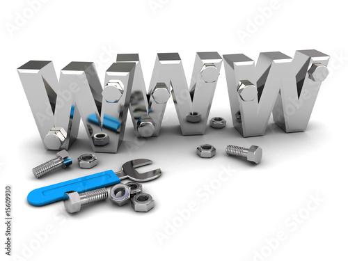 Fotografía  web construction