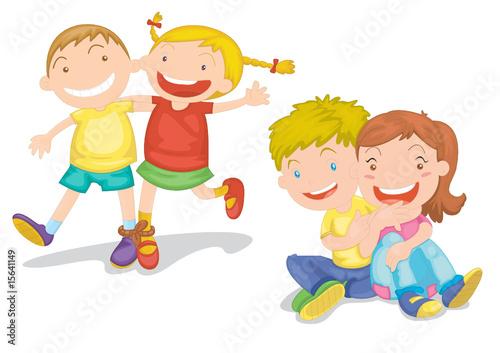 Fotobehang Kids kids