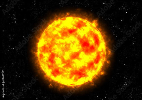 Keuken foto achterwand Nasa Sonne im Weltall