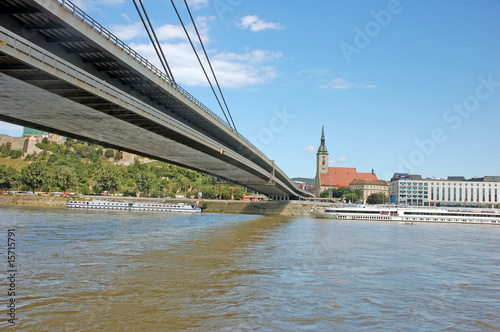 Tela  Bratislava = new bridge