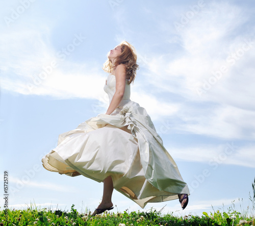 Fototapeta bride outdoor