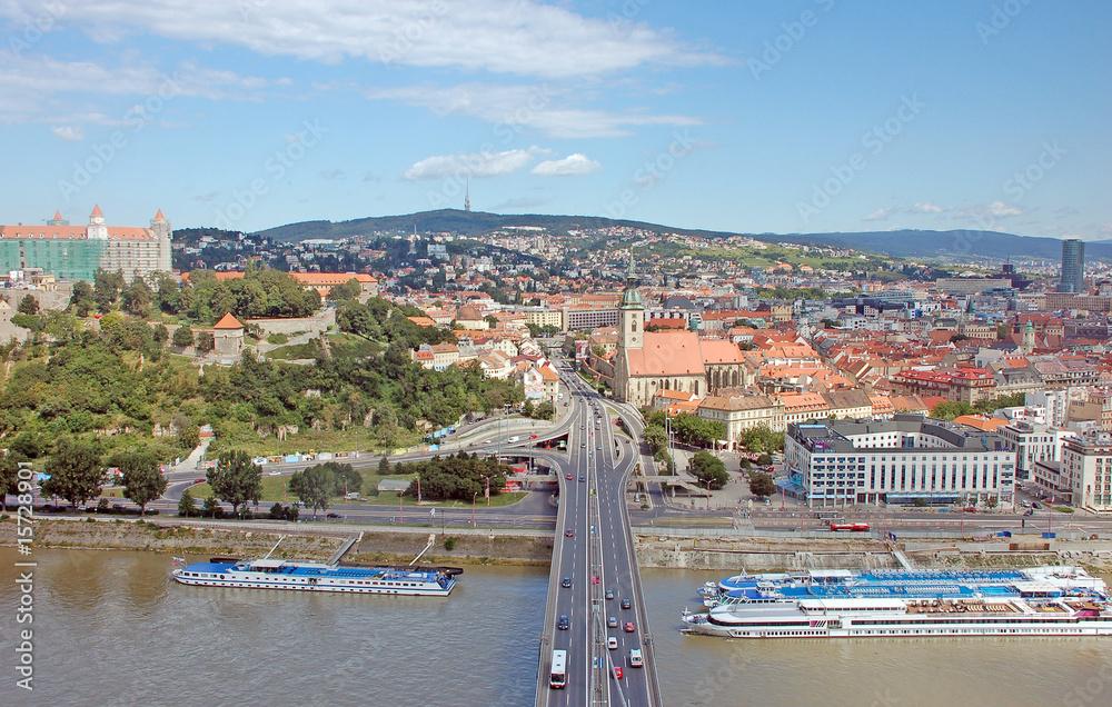 Fotografia  Bratislava  - New bridge view