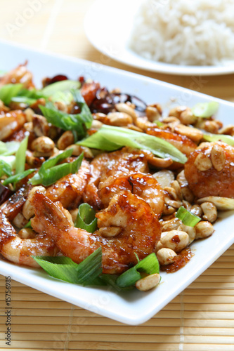 Photo  Kung Pao Shrimp