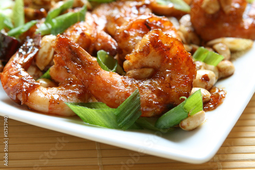 Photo  Kung Pao Shrimp