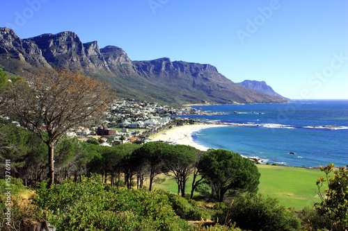 Keuken foto achterwand Zuid Afrika Camps Bay, Südafrika