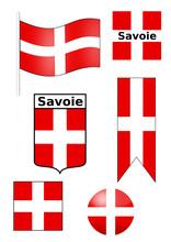 Drapeaux Savoie