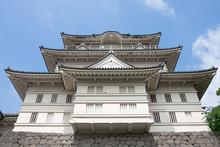 Castle In Odawara, Japan