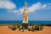 Statue Of Spanish Explorer In ...