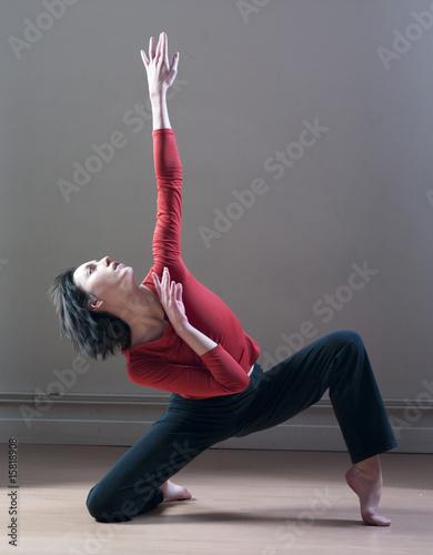 Photo femme et mouvements de danse