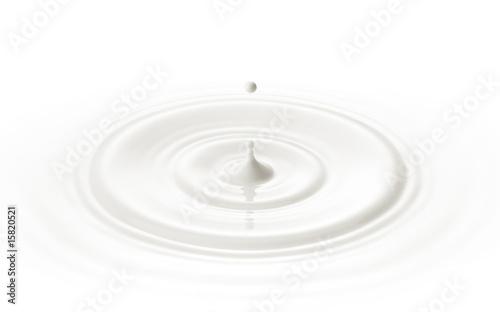 Fotografie, Tablou  milk drop