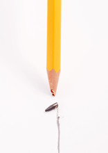 Pencil With Broken Tip