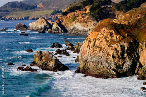 Foto Rollo Basic - California coast, Big Sur (von Andy)