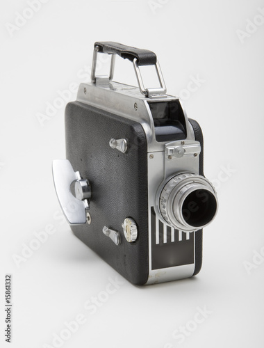 Old 8mm Movie Camera Canvas Print