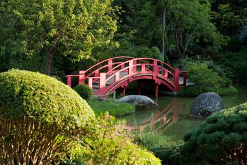 Fototapeta Do sushi baru Jardin Japonais à Toulouse