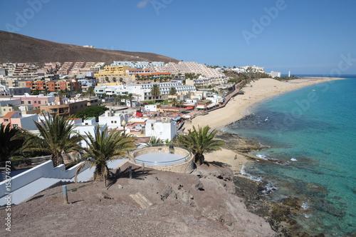 Foto op Aluminium Tunesië Coast near Morro Jable, Canary Island Fuerteventura, Spain