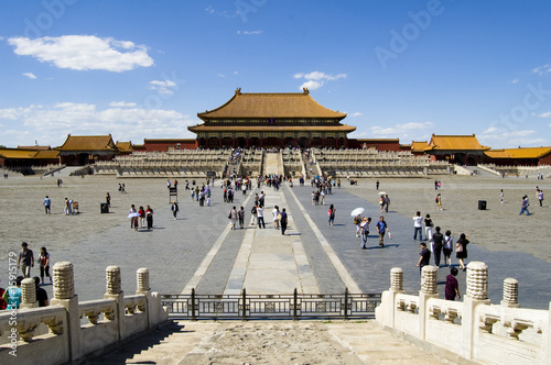 Canvas Prints Peking Forbidden City, Beijing