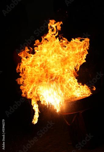Valokuva  Art of fire 11